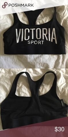 Victoria Secret Sports Bra Bought it, took off the tag- tried it on and it was too big! Couldn't return it anymore as I had thrown away the tag. Brand new!!! Victoria's Secret Intimates & Sleepwear Bras