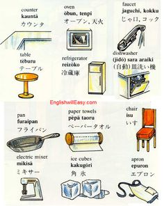 Kitchen #Japanese #Learn