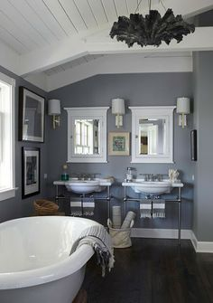 Paint: Farrow and Ball, Manor House Gray