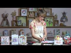 Latest & Greatest: Sunrise Lily Flower Shaping by Heartfelt Creations - CHA 2016 - YouTube