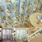Floral Tulle Voile Door Window Curtain Drape Panel Sheer Scarf Valance Trendy AS  Price 2.25 USD 4 Bids. End Time: 2016-10-19 03:00:31 PDT