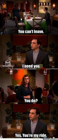 As much as I love Sheldon, I wanted to smack him for that one lol