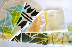 DIY : Print Your Own Fabric / Poppytalk