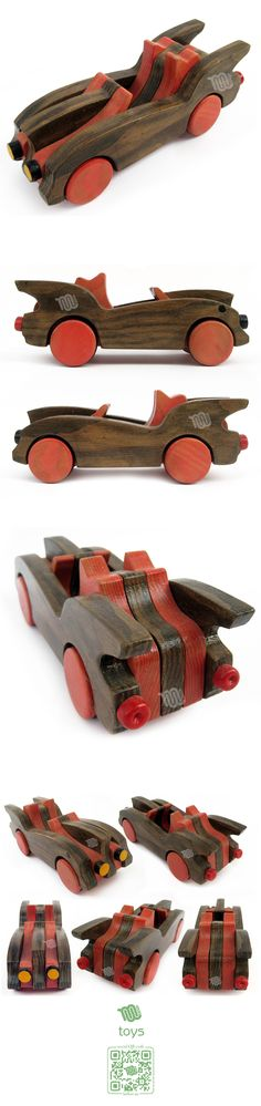 The wooden batmobile. Great for kids, not so good for fighting crime.
