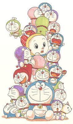 ♥pinterest➡@Nor Syafiqah♥ Doremon Cartoon, Cartoon Characters, Anime Chibi, Manga Anime, Doraemon Wallpapers, Favorite Cartoon Character, Little Twin Stars, Drawing For Kids, Anime Comics