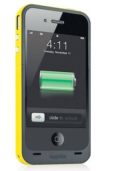 10. MOPHIE JUICE PACK AIR CASE FOR iPHONE 4 Smartphone users are always at - The Independent
