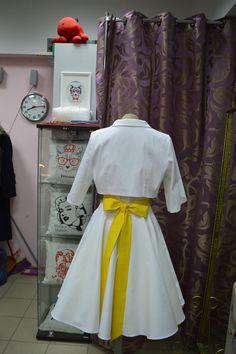 Ретро платье с болеро для Валерии http://vintage-trend.ru/info/30/Medvedeva_Valeriya__Sankt_Peterburg.html