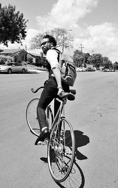 Bike + Back Pack