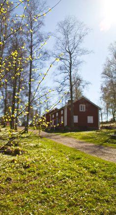 Nässjö in spring, Småland