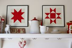 Framed Quilt Blocks