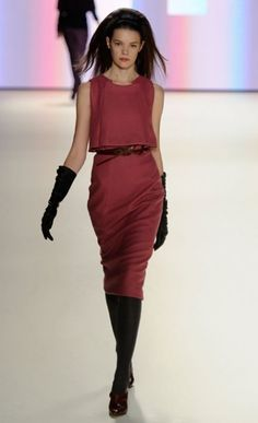 Carolina Herrera Fall 2012 - this color would look great on any skin tone!