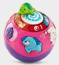 VTech Wiggle and Crawl Ball - Purple - Online Exclusive: Toys Amazon http://amzn.to/2cswc9n