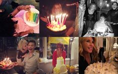 So schlemmen Reese Witherspoon, Beyoncé & Co.  - Die 9 süßesten Geburtstagstorten der Stars: http://on.elle.de/1N4Ilii