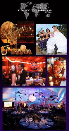 Si te casas en Halloween, qué tal estas ideas…#IdeasParaTuBoda #Halloween