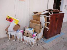 Trash Art : l'art du recyclage | La Régalerie - Francisco de Parajo - http://www.laregalerie.fr/trash-art-lart-du-recyclage/