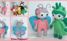 Funny Frog Toy Vanna Crochet PATTERN//INSTRUCTIONS NEW HTF Leaflet