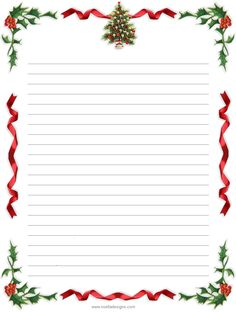 billedresultat for free printable christmas paper stationery
