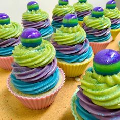 Bubblegum Soap Cupcakes by Wonderlust Artisan Soaps