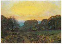 John Atkinson Grimshaw - Twilight