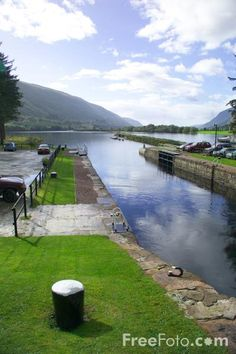 Laggan Locks on the Caledonian Canal
