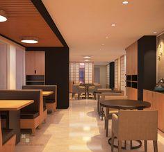 Giải pháp thiết kế nhà hàng phong cách Nhật đơn giản cho các chủ đầu tư