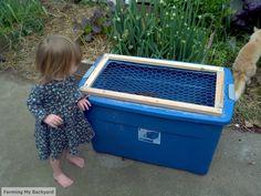 Chick Brooder Box