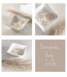 The best homemade bodyscrub // Hjemmelaget kroppsskrubb! Best Body Scrub, Nice Body, Scrubs, The Balm, Homemade, Dishes, Plate, Beautiful Body, Hand Made