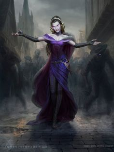 MtG Liliana, the Last Hope by depingo.deviantart.com on @DeviantArt