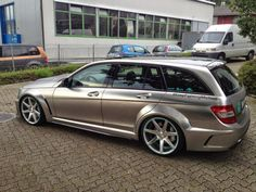 Mercedes C63 AMG T-Model Black Series Petronas F1 Edition by Carrotec