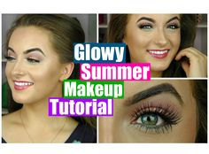 Quick & Easy Glowy Bronze Summer Makeup Tutorial || Sedona Lace Giveaway