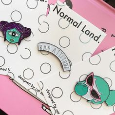 #Repost @normal_land_designs  Get all 3 pins for just 11.25 when you use the code BLACKFRIDAY16 in my Etsy store. Perfect stocking stuffers for your friends/lovers/nanas (or keep em for yourself)   buy them at the link in my profile #blackfriday #smallbusinesssaturday #smallbusiness  #softenamel #enamelpin #pinsofig #pingamestrong #pinstagram  #pin #pingameproper #lapelpin #pingame #art #artistsoninstagram  #cute #kitsch #girly #femme #alienbabe #intergalactic    (Posted by…