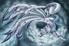 kitsune mythical creature - Google Search
