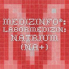 MedizInfo®: Labormedizin: Natrium (Na+)