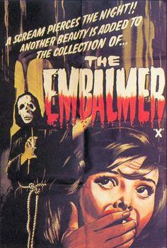 """The Embalmer (1965) """"Il mostro di Venezia"""" (original title) Stars: Maureen Brown, Luigi Martocci, Alcide Gazzotto ~  Director: Dino Tavella"""