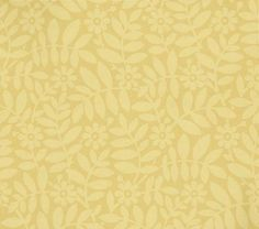 Craven St (277CRSUNLI) - Little Greene Wallpapers - A late 19th C design discovered in a row of Georgian houses. A delicate, subtle all-over floral design. Available in 7 colours – shown in cream on sand yellow base. Please ask for sample for true colour match. Complimentary paints also available.