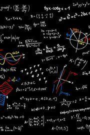 【93位】【スマホ壁紙】黒板の数式