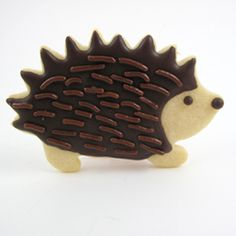 This charming little hedgehog cookie cutter makes a peffect cookie with the crisply detailed edging. Made of durable stainless steel by Birkmann in Germany. Use our No Fail Sugar Cookie Recipe to minimize cookie spread and get sharp detailing. No Fail Sugar Cookie Recipe, Iced Sugar Cookies, Royal Icing Cookies, Sugar Cookies Recipe, Cookie Recipes, Cookie Ideas, Diy Cookie Cutter, Animal Cookie Cutters, Cookies For Kids