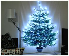 Fabric Christmas Tree | Cook You Some Noodles