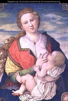 Virgin and Child - Daniel Froschl
