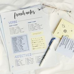 Languages Open New Worlds - study ideas study inspiration study motivation study notes study power study room Cute Notes, Pretty Notes, Beautiful Notes, Revision Notes, Study Notes, French Revision, Revision Tips, Gcse Revision, College Notes
