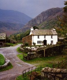 Cottage in a rural location. Perfect.