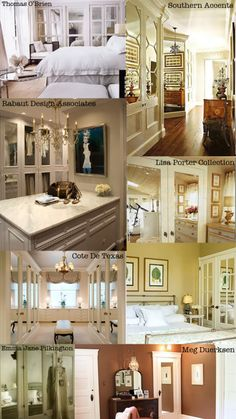 Mirrored Doors (before, during & after from The Lettered Cottage) + some inspiration images.