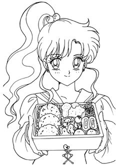 Photo: This Photo was uploaded by MireiKaibatsuki. Find other pictures and photos or upload your own with Photobucket . Printable Adult Coloring Pages, Coloring Pages For Girls, Cute Coloring Pages, Coloring Books, Sailor Jupiter, Sailor Moon Art, Sailor Moon Coloring Pages, Anime Lineart, Sailor Moon Character