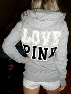 68688d2eb31f Casual O-Neck Pullovers Love Letters Printed Hoodie