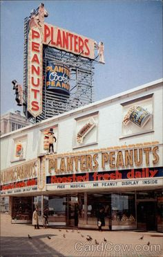 The Peanut Store Atlantic City New Jersey My husband, a carpenter worked on the interior of this store back in the 80's