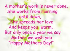 mothers day greetings messages to a friend