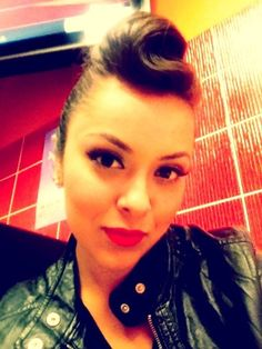 Rockabilly  wish I could do my hair like this