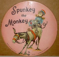 Spunkey the Monkey Record. Voco-1949.