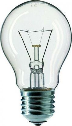 Žárovka 100W E27 240V čirá otřesuvzdorná