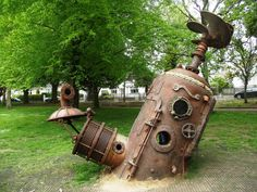 Steampunk Tendencies | The Sub by Rob Higs